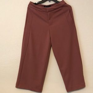 Dusty red pants